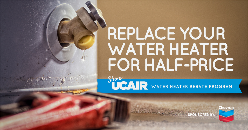 ShowUCAIR Water Heater Rebate Program