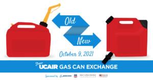 October 2021 UCAIR Gas Can Exchange @ Salt Lake County Environmental Health Department